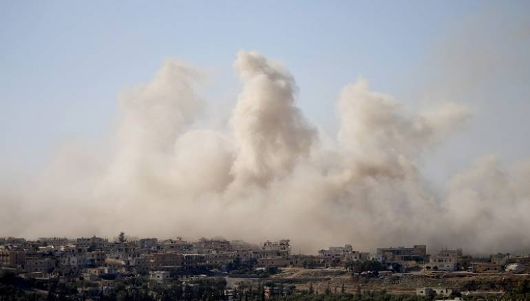 Syrian regime dropped 98 barrel bombs in September: SNHR