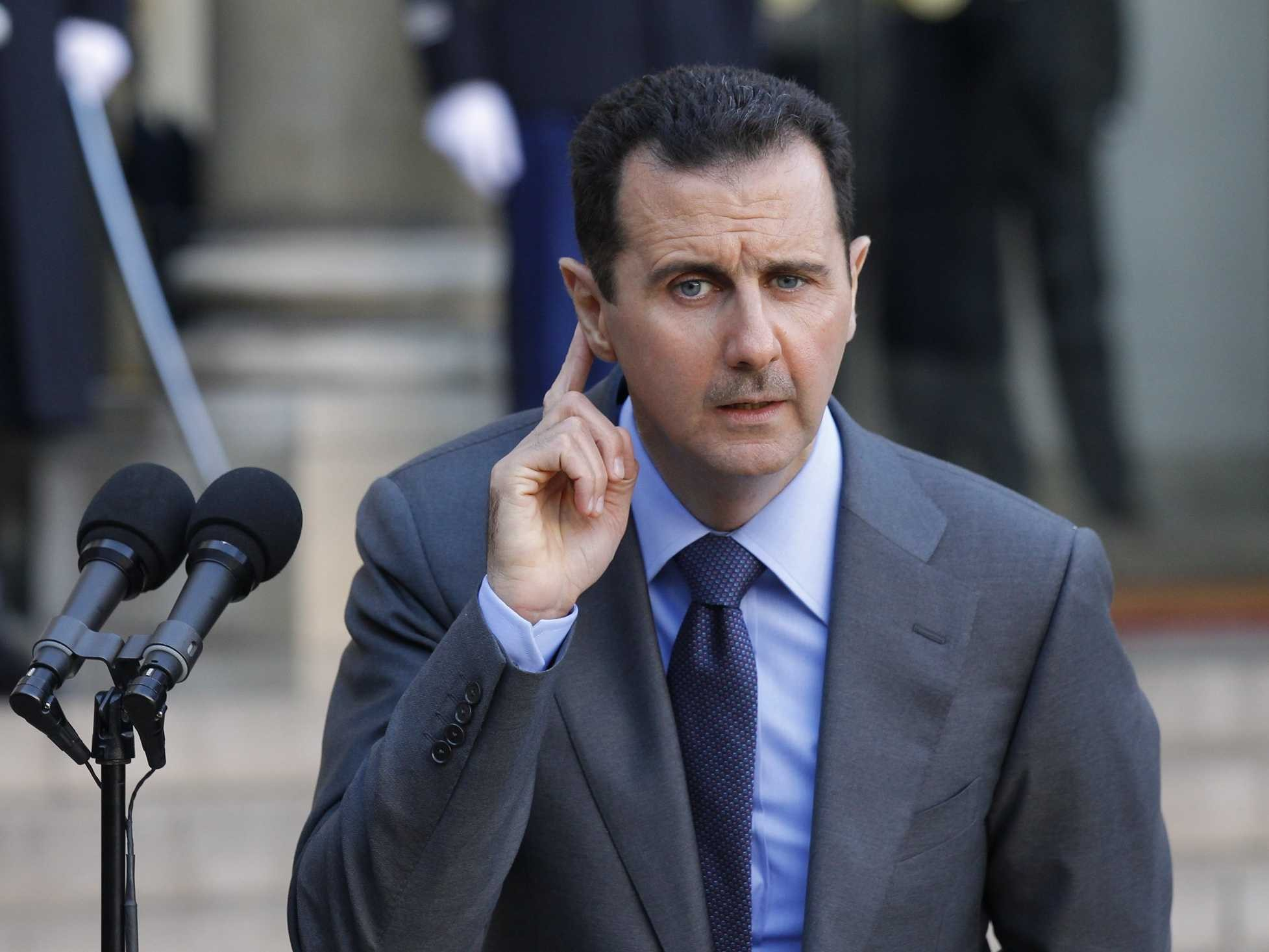 New law set to turn up financial pressure on Bashar Assad