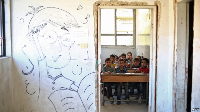 Syria's broken schools will make it difficult to fix the country