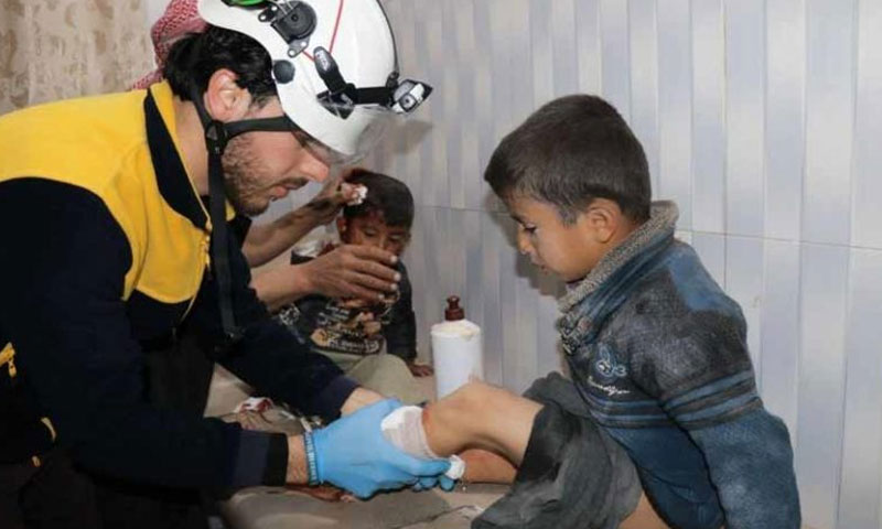 To Minimize Civilians Harm in Idlib, Public Information Campaign