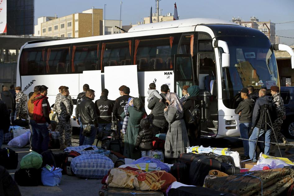Lebanon: Syrians Summarily Deported from Airport