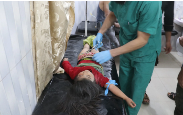 Syria and Russia bomb hospitals in Idlib after they were given coordinates in hope of preventing attacks