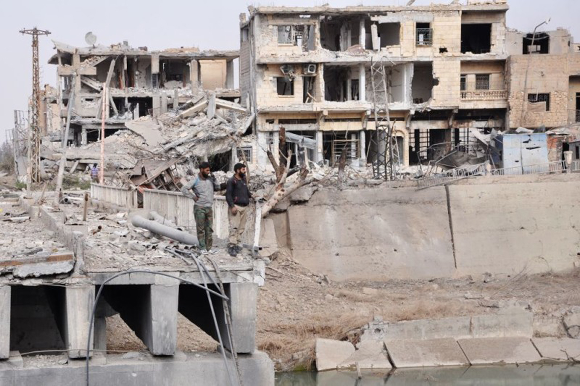 United Nations money feeds corruption in Deir ez-Zor