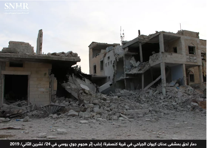 Syrian-Russian Alliance Forces Target 67 Medical Facilities in Northwest Syria Since April 26, 2019