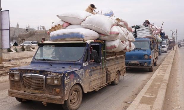 500,000 flee Syrian regime's deadly offensive in Idlib