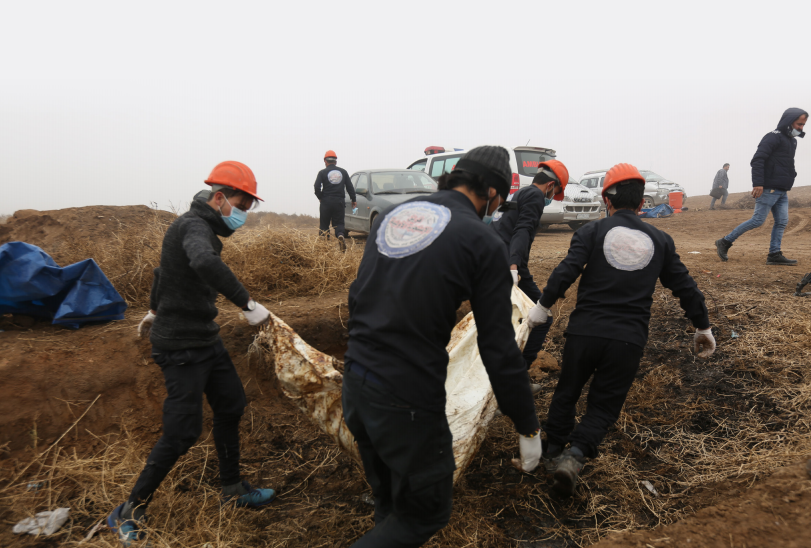 Searching for Missing Persons in Northeast Syria
