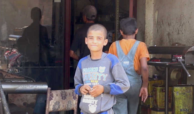Syrian children labor to support families torn apart by war