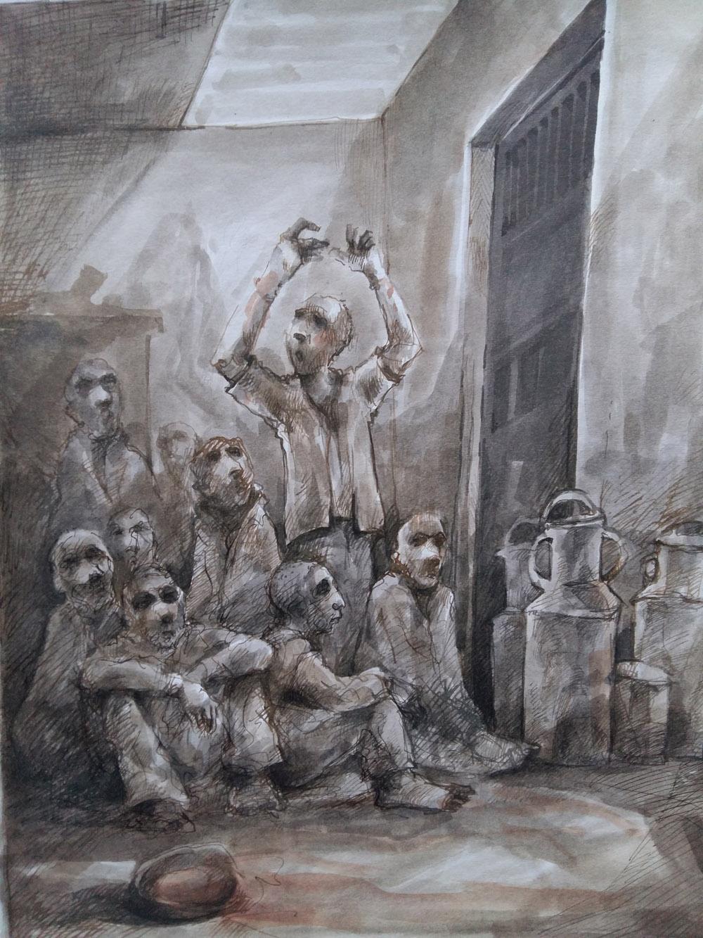 """كتاب """"سجن صيدنايا خلال الثورة السورية"""": شهادة معتصم عبد الساتر"""