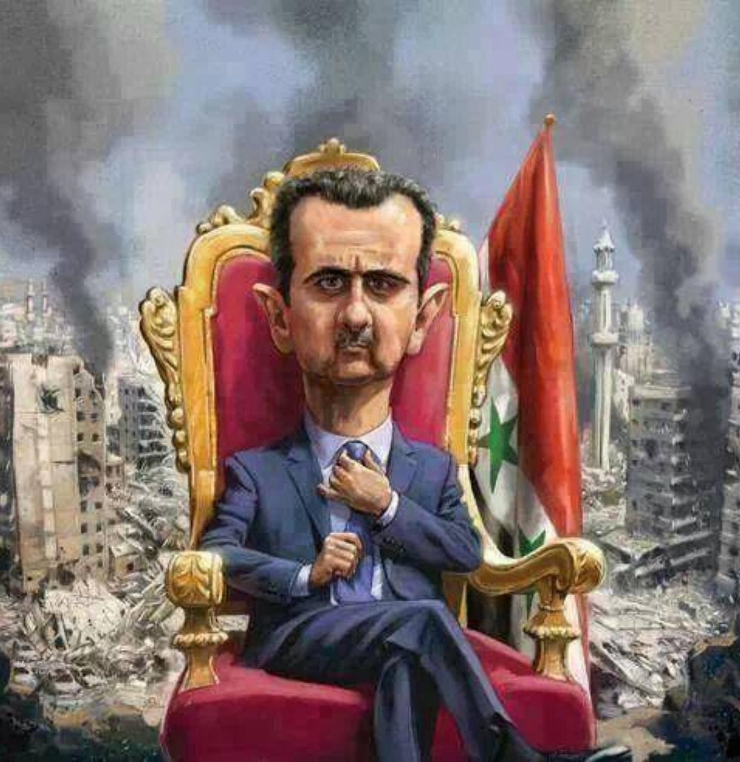 Russia grants Assad $1bn, opens trade mission in Damascus