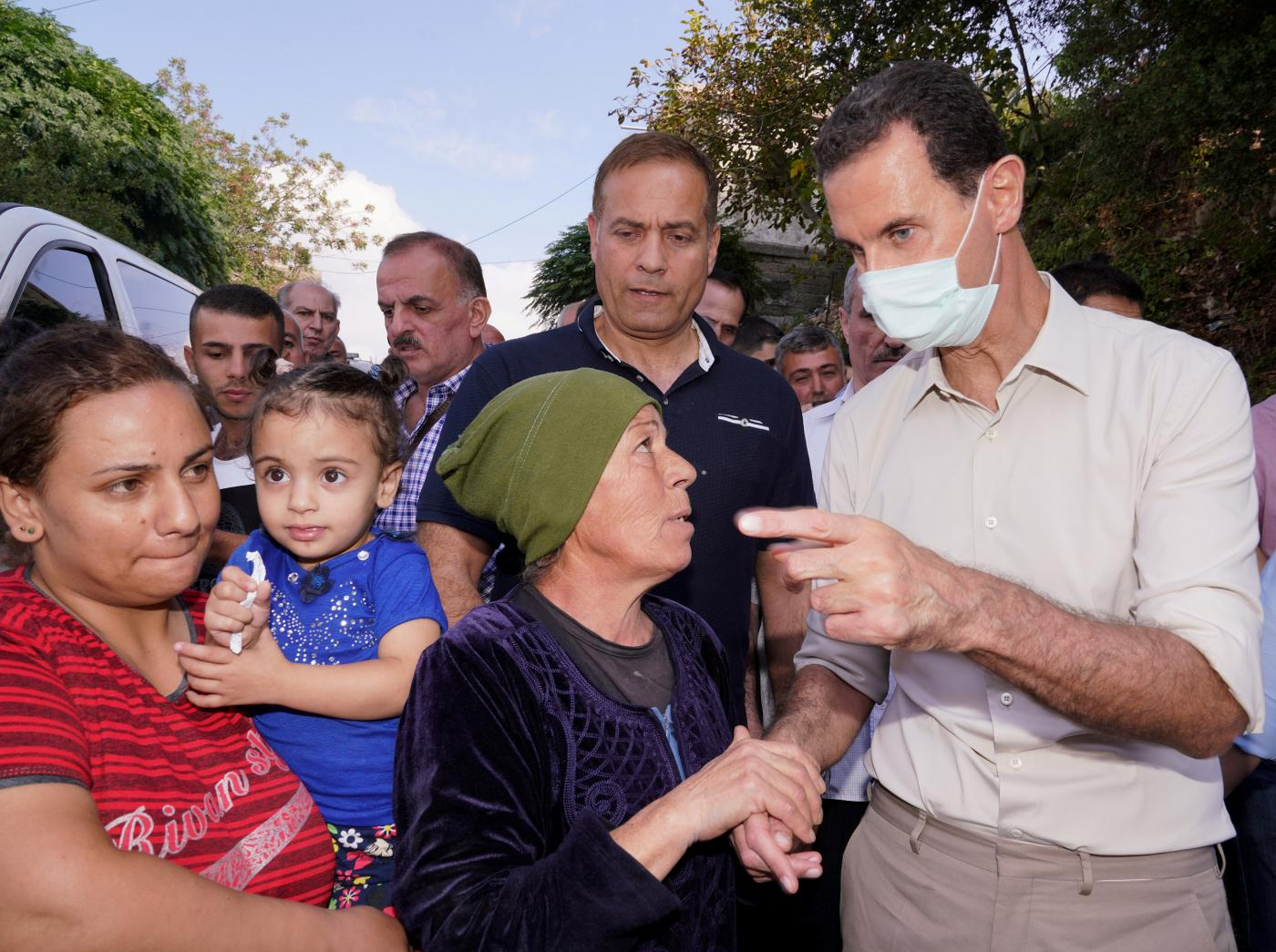 Assad says billions of dollars of Syrian deposits trapped in Lebanon