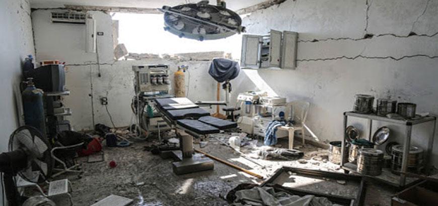 استهداف المنشآت الحيوية السورية والكوادر الطبية والمدنية (3/3)