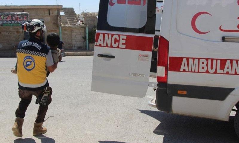 استهداف المنشآت الحيوية السورية والكوادر الطبية والمدنية (3/2)