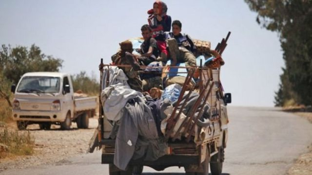 Condemnation of the Syrian regime's barbaric threats and actions against the people of Daraa to force them into displacement